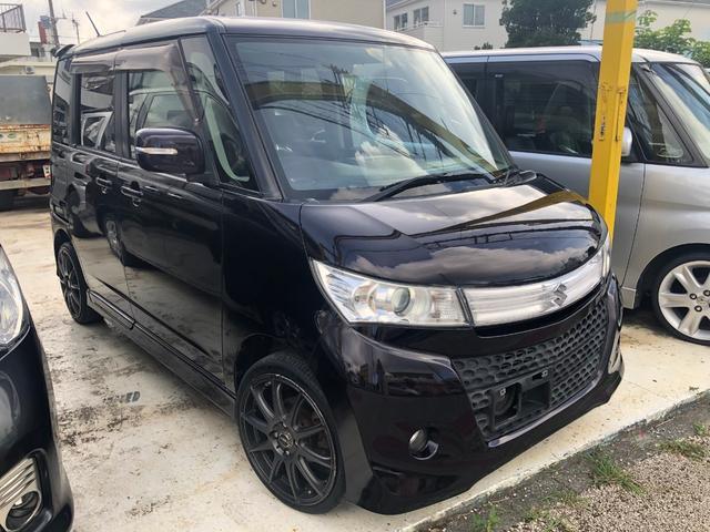 沖縄の中古車 スズキ パレットSW 車両価格 35万円 リ済込 2009(平成21)年 14.2万km ダークパープル