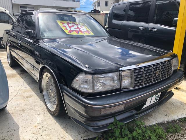 沖縄県の中古車ならクラウン ロイヤルサルーンG V8