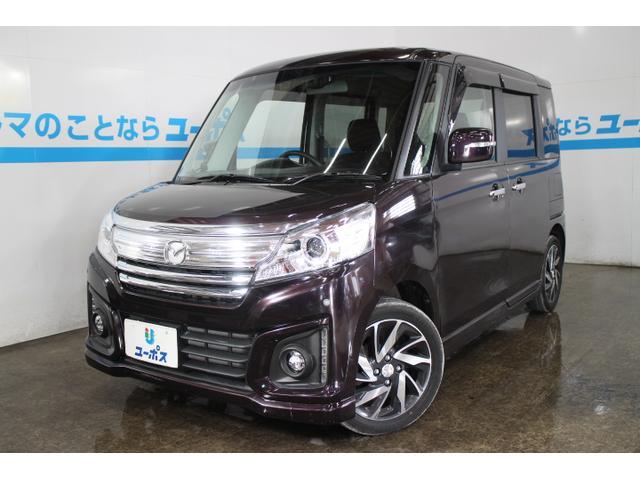 沖縄県の中古車ならフレアワゴンカスタムスタイル XS デュアルカメラブレーキサポート OP10年保証対象車両