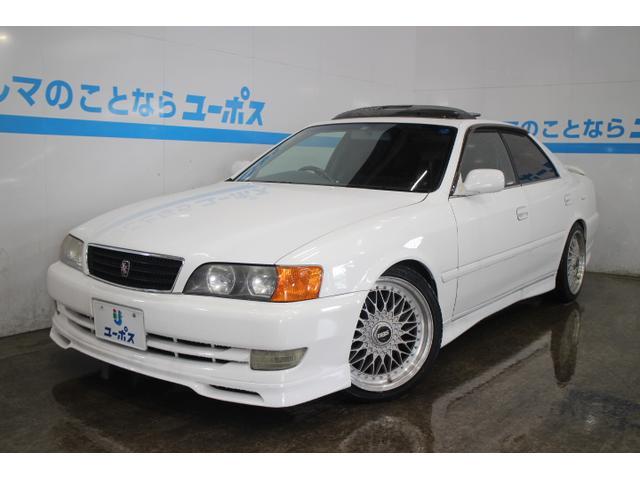沖縄県の中古車ならチェイサー ツアラーV BBS18インチAW APEXIマフラー