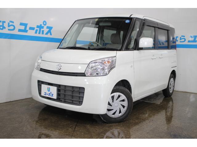 沖縄の中古車 スズキ スペーシア 車両価格 85万円 リ済別 2013(平成25)年 2.2万km パールホワイト