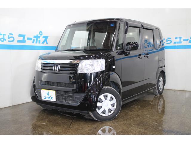 沖縄の中古車 ホンダ N-BOX 車両価格 89万円 リ済別 2013(平成25)年 5.6万km クリスタルブラックパール