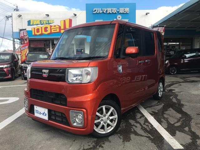 沖縄県沖縄市の中古車ならウェイク L SAII OP10年保証対象車 両側パワースライドドア カロッツェリアナビ