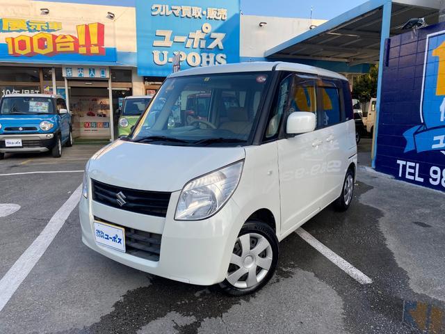 沖縄の中古車 スズキ パレット 車両価格 25万円 リ済別 2012(平成24)年 9.9万km パールホワイト