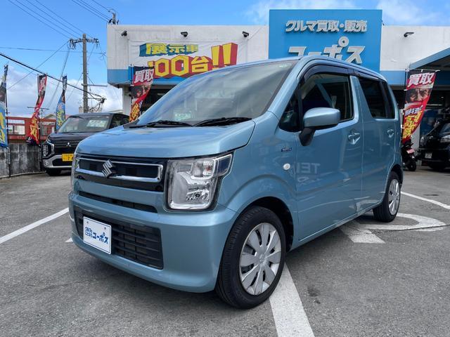 沖縄県の中古車ならワゴンR ハイブリッドFX OP10年保証対象車 純正CDオーディオ 電動格納ミラー シートヒーター