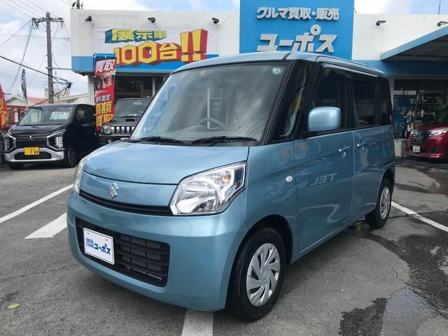 沖縄県の中古車ならスペーシア G OP5年保証対象車 純正CDオーディオ プッシュスタート スマートキー