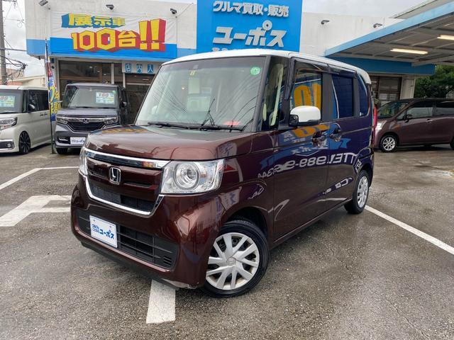 沖縄県の中古車ならN-BOX G・Lホンダセンシング OP10年保証対象車 ワンセグ 純正オーディオ パワースライドドア バックモニター ETC