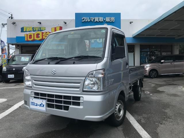 沖縄県の中古車ならキャリイトラック KCエアコン・パワステ OP5年保証対象車 5MT AM/FMオーディオ ライトレベライザー