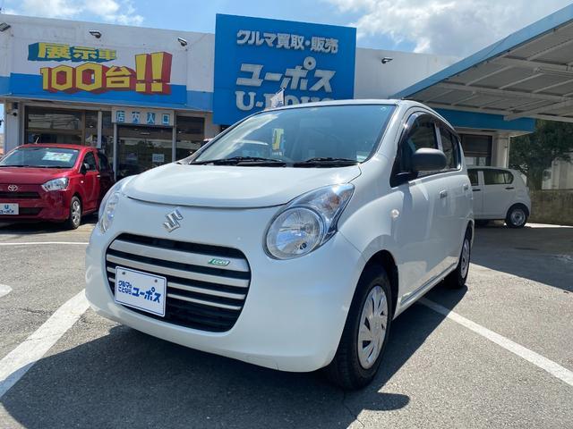 沖縄県沖縄市の中古車ならアルトエコ ECO-L OP10年保証対象車 純正CDオーディオ アイドリングストップ キーレスキー