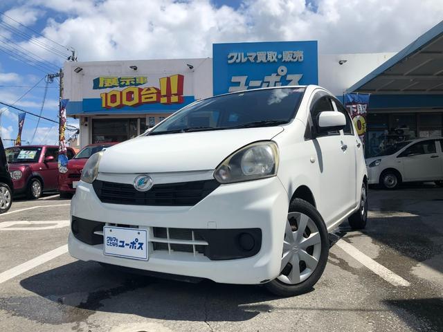 沖縄県沖縄市の中古車ならミライース L OP10年保証対象車 純正CDオーディオ アイドリングストップ キーレスキー