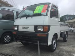 沖縄の中古車 ダイハツ ハイゼットトラック 車両価格 25万円 リ済込 平成10年 7.7万K ホワイト