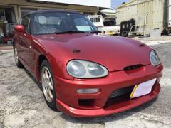 沖縄の中古車 スズキ カプチーノ 車両価格 74万円 リ済込 平成6年 9.9万K レッドM