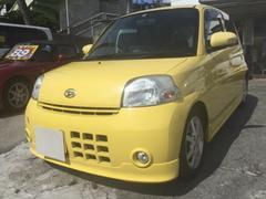 沖縄の中古車 ダイハツ エッセ 車両価格 39万円 リ済込 平成21年 8.8万K イエロー