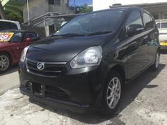 沖縄の中古車 ダイハツ ミライース 車両価格 49万円 リ済込 平成25年 7.3万K ブラックM