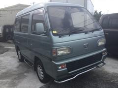 沖縄の中古車 ホンダ アクティバン 車両価格 25万円 リ済込 平成3年 8.7万K グリーンM
