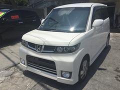 沖縄の中古車 ホンダ ゼストスパーク 車両価格 45万円 リ済込 平成21年 9.6万K パールホワイト