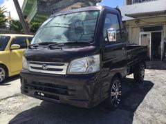 沖縄の中古車 ダイハツ ハイゼットトラック 車両価格 49万円 リ済込 平成18年 7.5万K パープルM