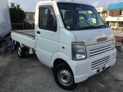 沖縄の中古車 スズキ キャリイトラック 車両価格 49万円 リ済込 平成20年 8.7万K ホワイト
