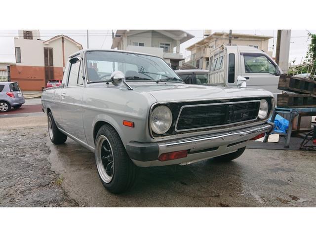 沖縄県うるま市の中古車ならサニートラック ショート エアコン ワタナベ13インチAW