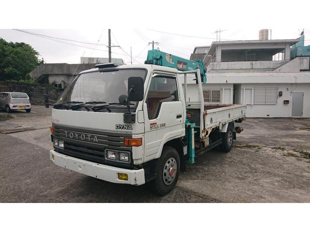 沖縄の中古車 トヨタ ダイナトラック 車両価格 190万円 リ済込 1993(平成5)年 1.5万km ホワイト