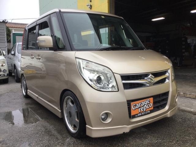 沖縄の中古車 スズキ パレット 車両価格 39万円 リ済込 2008(平成20)年 7.9万km ゴールドM