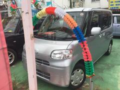 沖縄の中古車 ダイハツ タント 車両価格 39万円 リ済別 平成22年 10.0万K シルバーII