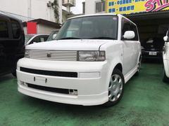 沖縄の中古車 トヨタ bB 車両価格 35万円 リ済別 平成16年 8.3万K パール