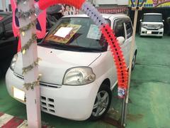 沖縄の中古車 ダイハツ エッセ 車両価格 23万円 リ済別 平成18年 11.1万K ホワイト