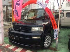 沖縄の中古車 トヨタ bB 車両価格 35万円 リ済別 平成17年 7.8万K 紺M
