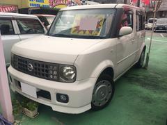 沖縄の中古車 日産 キューブ 車両価格 16万円 リ済別 平成16年 14.5万K パールホワイト