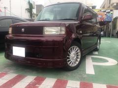 沖縄の中古車 トヨタ bB 車両価格 39万円 リ済別 平成15年 6.5万K ワインM