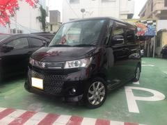 沖縄の中古車 スズキ パレットSW 車両価格 65万円 リ済別 平成23年 7.2万K パープルII