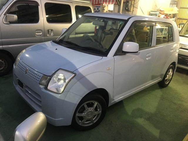 沖縄の中古車 スズキ アルト 車両価格 24万円 リ済別 平成17年 3.4万km ブルーM
