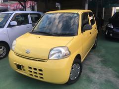 沖縄の中古車 ダイハツ エッセ 車両価格 27万円 リ済別 平成21年 5.3万K イエローM