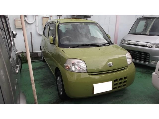 沖縄の中古車 ダイハツ エッセ 車両価格 27万円 リ済別 平成18年 7.9万km グリーンIII
