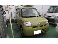 沖縄の中古車 ダイハツ エッセ 車両価格 27万円 リ済別 平成18年 7.9万K グリーンIII