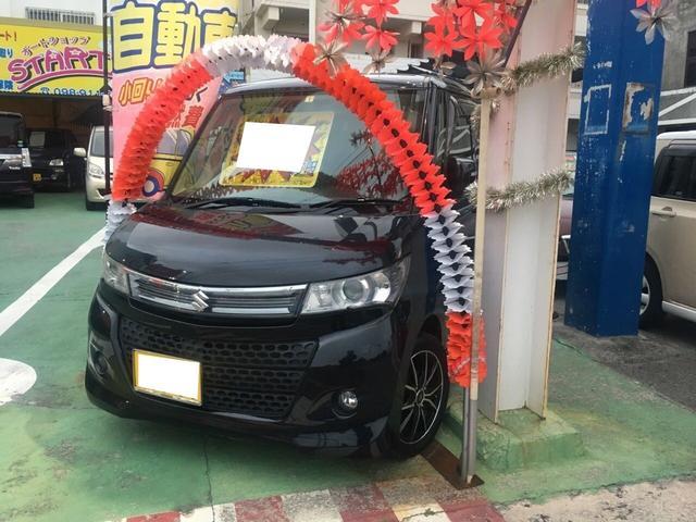 沖縄の中古車 スズキ パレットSW 車両価格 55万円 リ済別 平成24年 10.0万km ブラックM