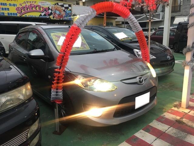 沖縄の中古車 マツダ デミオ 車両価格 42万円 リ済別 平成21年 11.0万km グレイメタリック