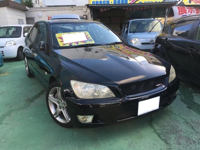 沖縄県の中古車ならアルテッツァ RS200 リミテッドナビパッケージ