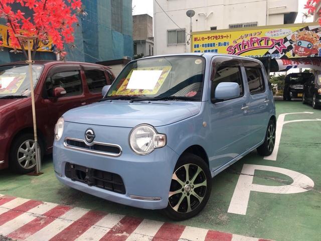 沖縄の中古車 ダイハツ ミラココア 車両価格 50万円 リ済別 2012(平成24)年 8.2万km ブルーM