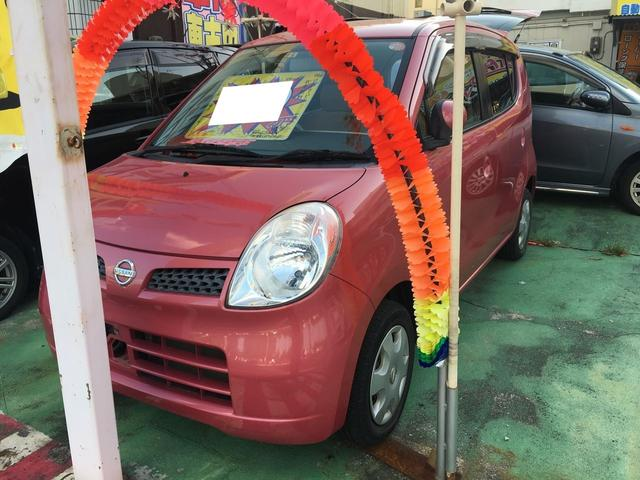 沖縄の中古車 日産 モコ 車両価格 26万円 リ済別 2008(平成20)年 8.0万km レッドIII