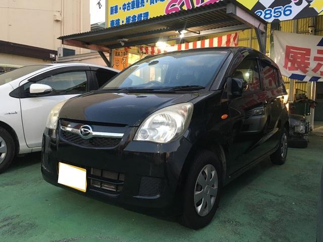 沖縄の中古車 ダイハツ ミラ 車両価格 33万円 リ済別 2010(平成22)年 4.9万km ブラックM