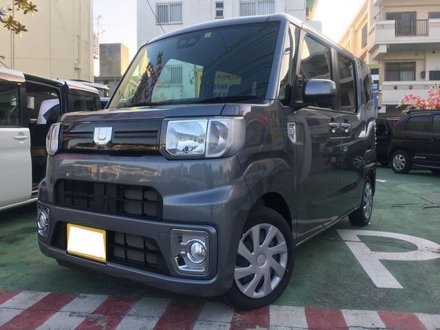 沖縄の中古車 ダイハツ ウェイク 車両価格 135万円 リ済別 2019(平成31)年 22km グレーM