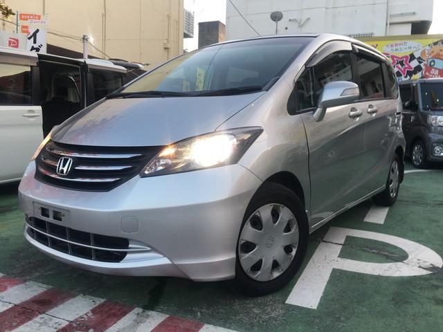 沖縄の中古車 ホンダ フリード 車両価格 59万円 リ済別 2011(平成23)年 5.2万km シルバーM