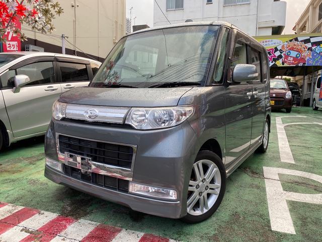 沖縄の中古車 ダイハツ タント 車両価格 54万円 リ済別 2009(平成21)年 6.8万km グレーM