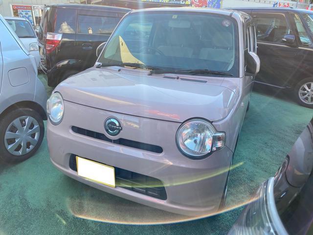 沖縄の中古車 ダイハツ ミラココア 車両価格 45万円 リ済別 2009(平成21)年 6.0万km ピンク