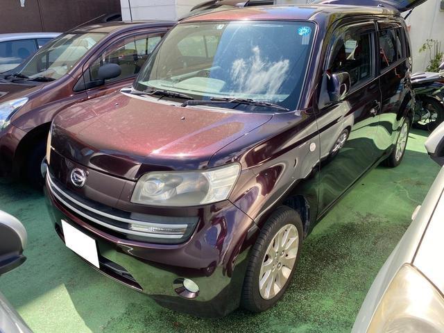 沖縄の中古車 ダイハツ クー 車両価格 21万円 リ済別 2006(平成18)年 14.0万km ワインメタリック