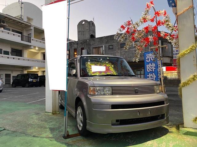 沖縄の中古車 トヨタ bB 車両価格 18万円 リ済別 2005(平成17)年 9.2万km ガンM