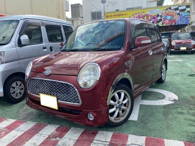 沖縄の中古車 ダイハツ ミラジーノ 車両価格 30万円 リ済別 2005(平成17)年 12.3万km レッドM