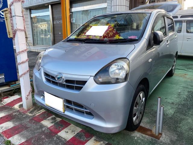 沖縄の中古車 ダイハツ ミライース 車両価格 39万円 リ済別 2012(平成24)年 9.0万km シルバーII